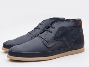 Armstrong Navy Boot by Folk