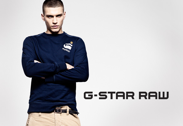 The G Star Raw philosophy   Just the product  shines through in all aspects of the G Star collection, from Jeans and combats, to Hoodies, Sweatshirts and