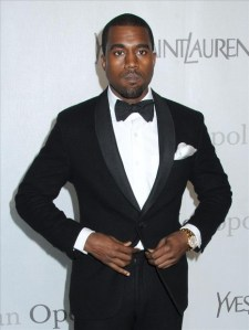 Kanye West Bow Tie