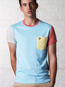Lyle and Scott Multi Colour T-Shirt With Pocket