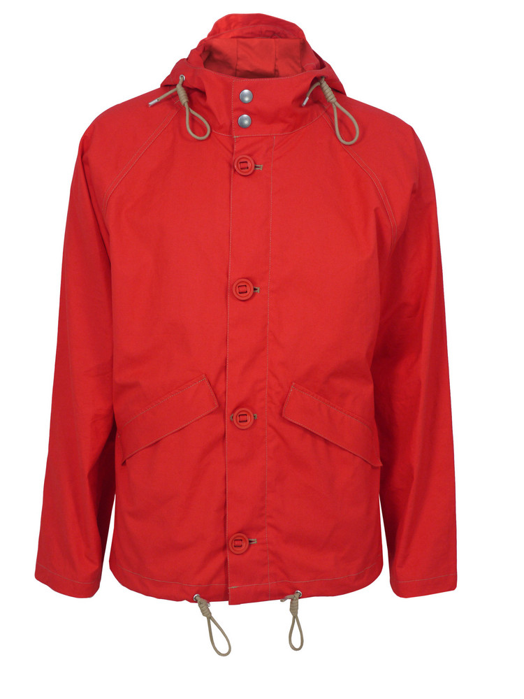 Nigel Cabourn Aircraft BT Jacket in Orange