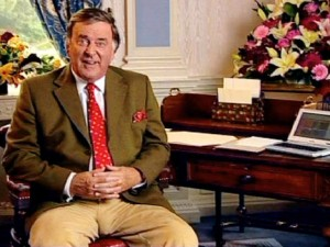 Terry Wogan Shows His Bollocks
