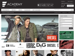 Academy Menswear Discount Code -10% Off