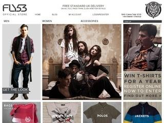fly53 online shop - free shipping over £30