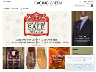 Racing Green Discount Code - Extra 10% Off