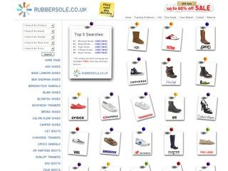 RubberSole.co.uk Promotional Code - Extra 10% Off