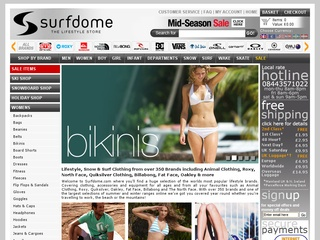 Surfdome Coupon Code -20% Off !