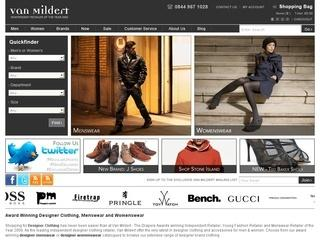 Van Mildert UK Code - Save 10%!