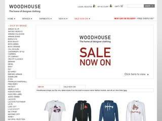 This code offers you 15% on Your Next Order at Woodhouse Clothing. Discover amazing deals that will save you money, only from Woodhouse Clothing.